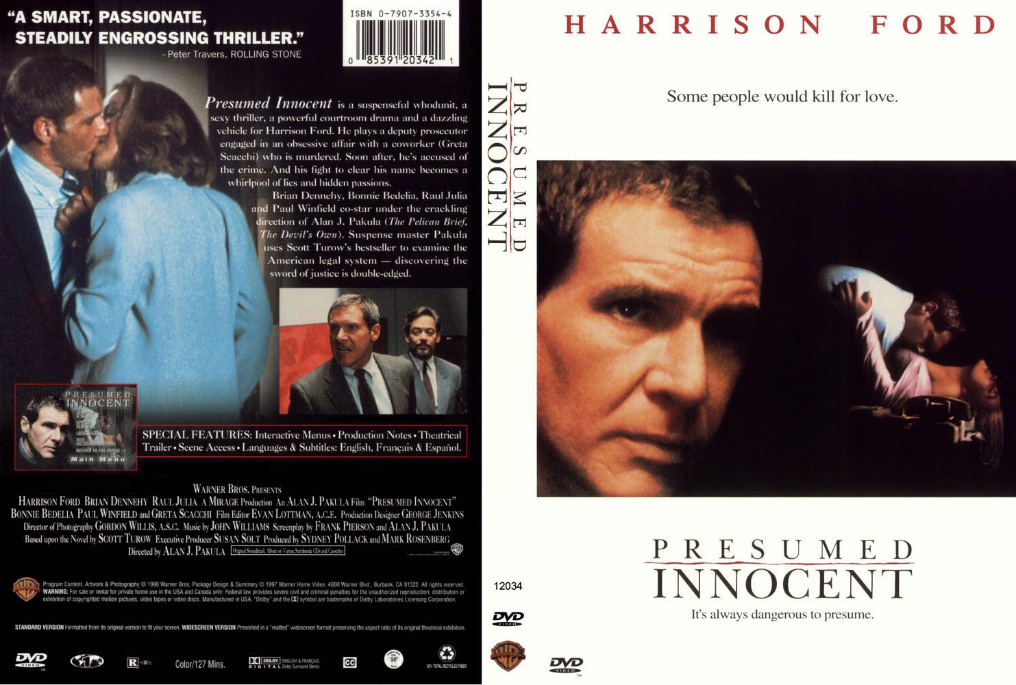 presumed innocent Other information: total number of members who have this title in their: collection: 644 wish list: 101 there are 4 labels for this title there are 7 compilation albums for this title.