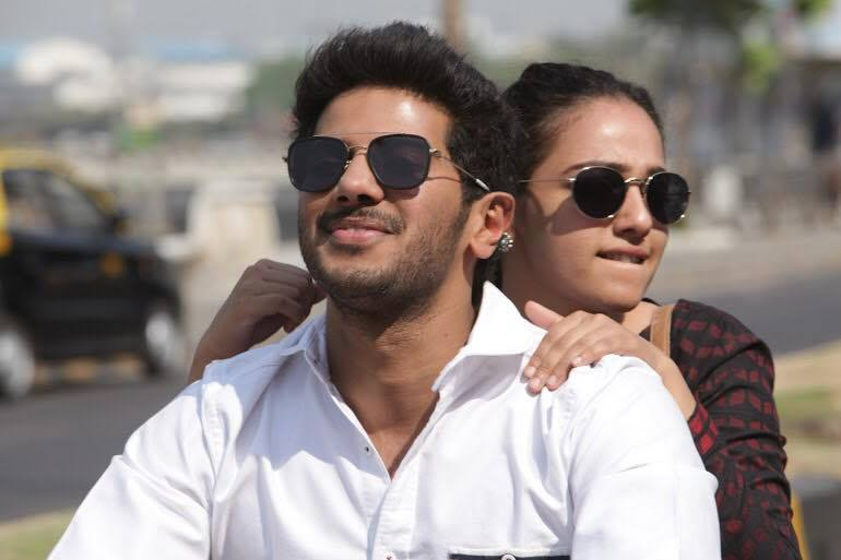 Nithya Menon and Dulquer Salman in OK KANMANI