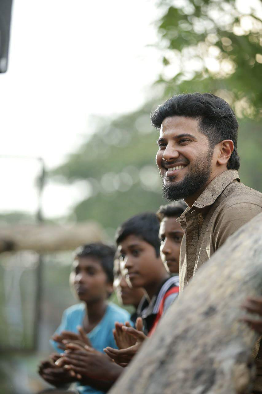 dulquer salmaan photos from parava  2018
