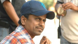 Director AR Murugadoss at Tupaki Telugu Movie Shooting Spot Stil