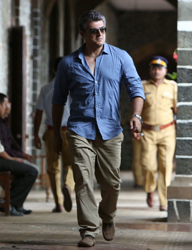 Ajith Kumar mass walk in Arambam