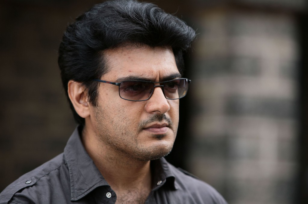 Ajith Kumar with sun glass