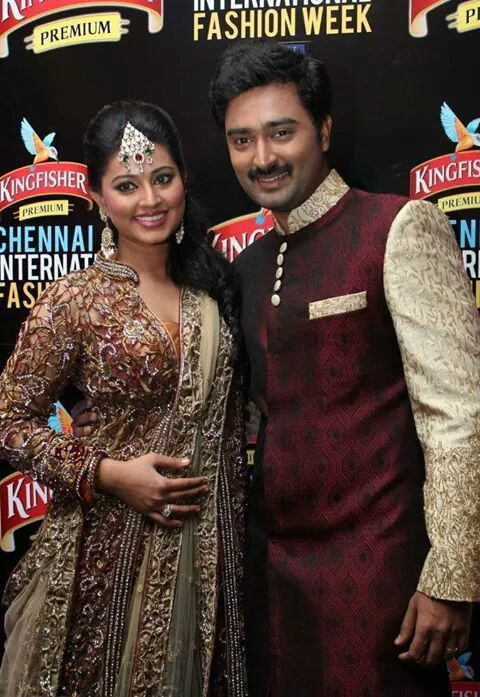 Actress Sneha and Prasanna