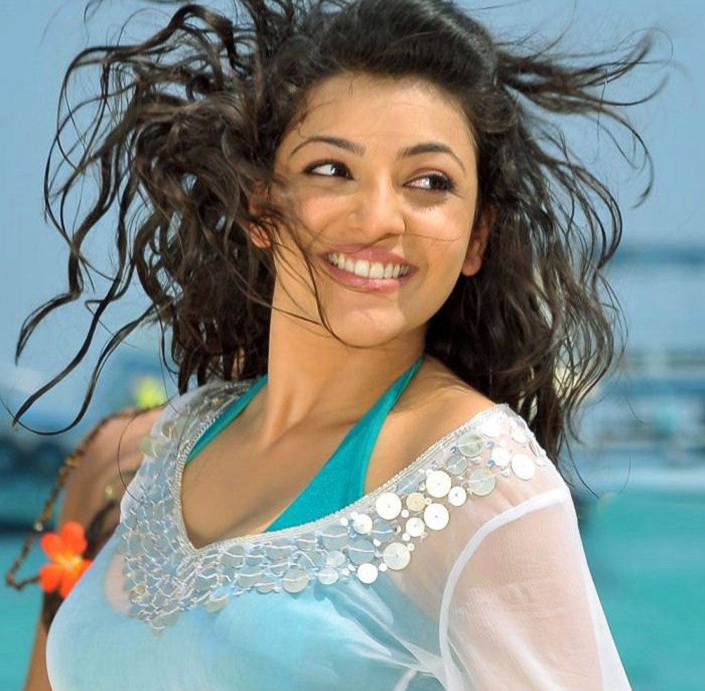 Kajal Aggarwal in bikini wet photo