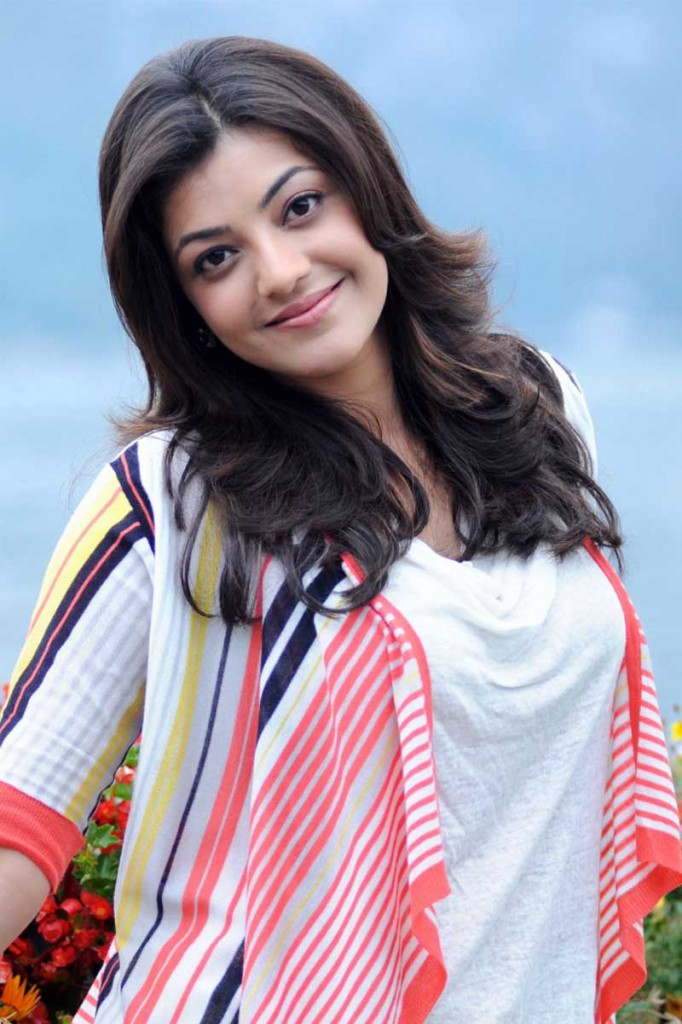 Kajal Aggarwal smiling. Kajal Aggarwal best photo