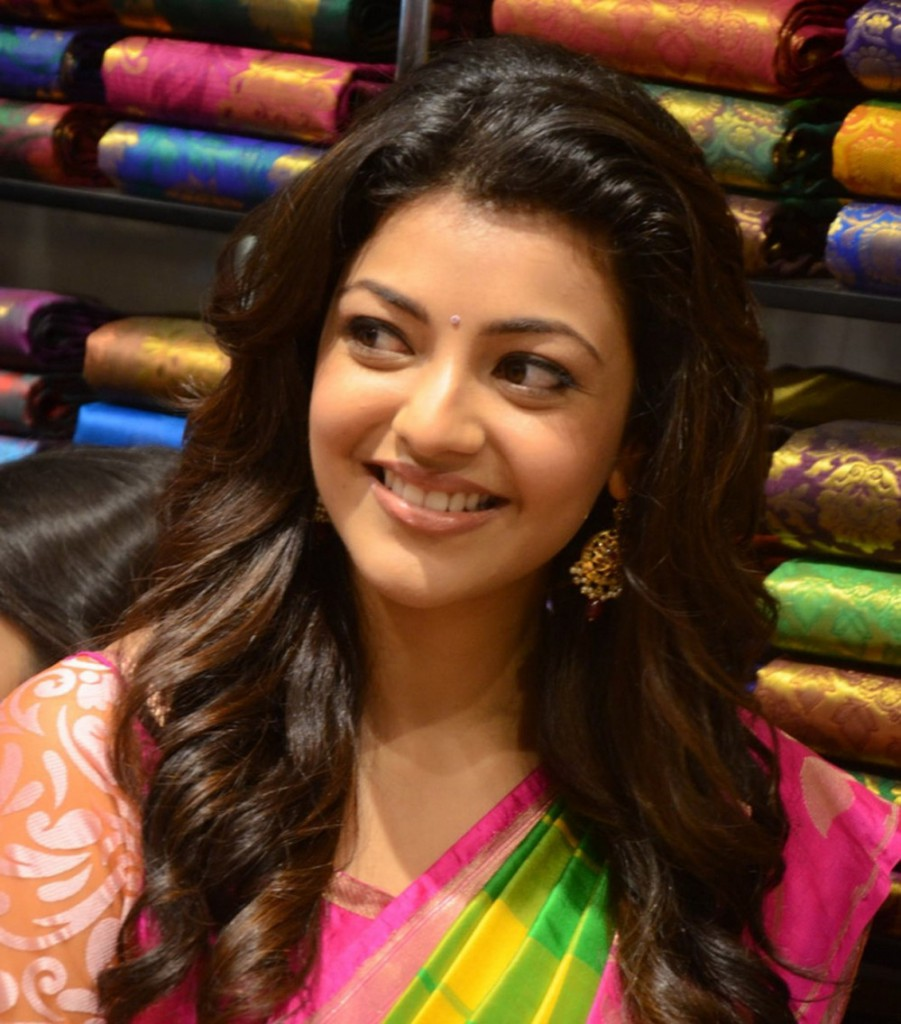 Kajal Aggarwal in traditional saree