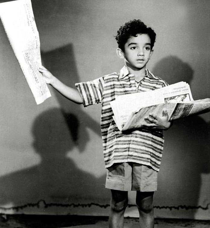 Kamal Childhood Pic from a movie