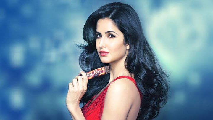 Katrina Kaif in red top photoshoot