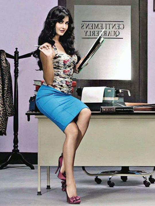 Katrina Kaif posing for a photoshoot