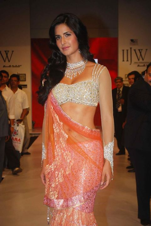 Katrina Kaif during a fashion show