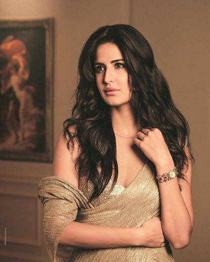 Katrina Kaif posing for photo shoot