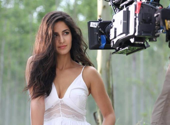 Katrina Kaif hot in white top