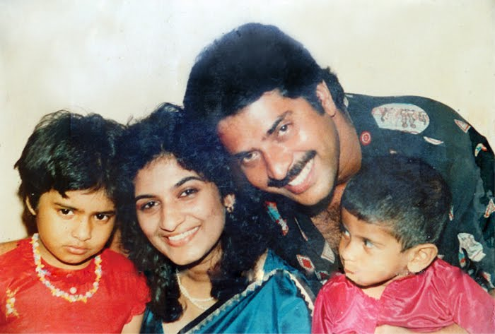 Mammootty and Family