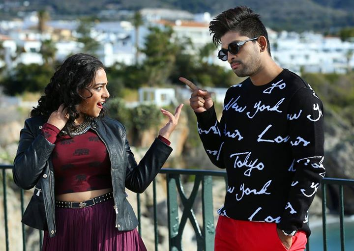 Nithya Menon Hot in SO Satyamurthy -