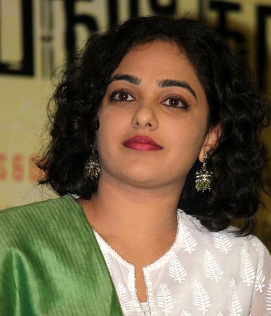 Nithya Menon in a function real life