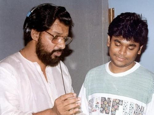Rahman with Yesudas