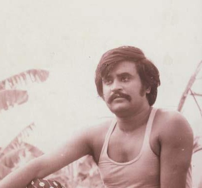 Rajini an Old Film Scene