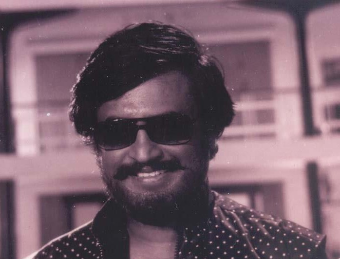 Rajinikanth an old film Scene