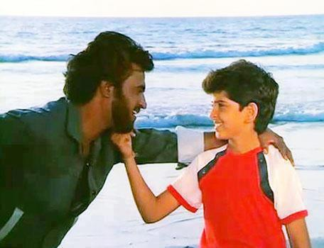 Rajinikanth and Hrithik Roshan