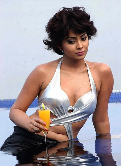 Shriya Saran hot photo from Kandasamy