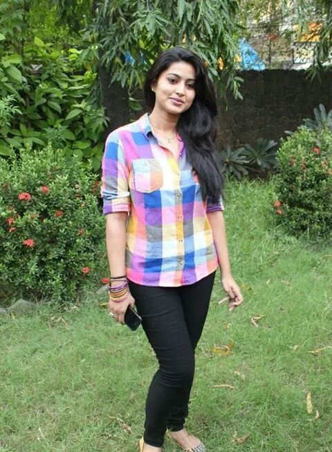 Sneha in simple top and jeans