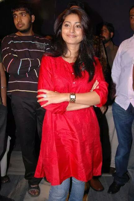 Sneha in red top