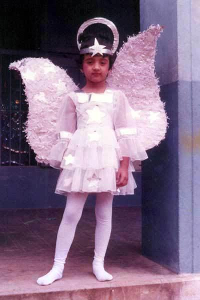 Trisha Krishnan childhood photo