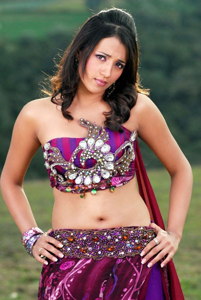 Trisha krishnan navel photo