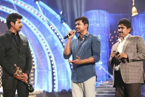Vijay speech on the stage
