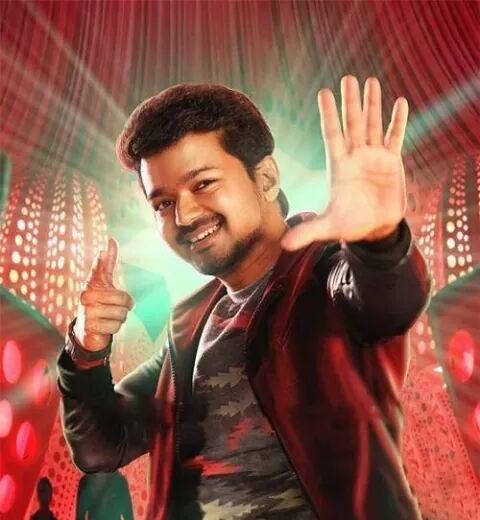 vijay in a dance sequence