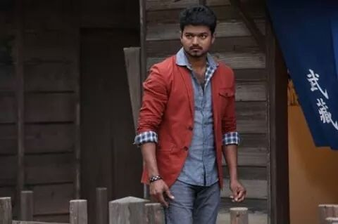 Vijay mass walk before an action scene
