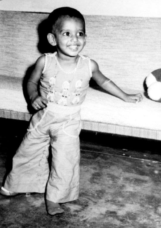Vishal childhood photo