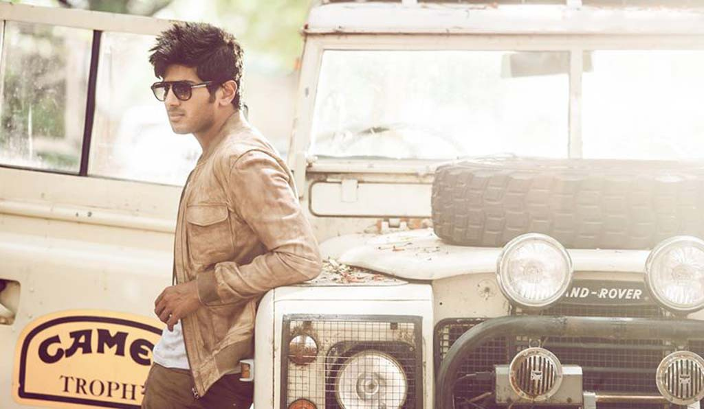 Dulquer Salmaan during a photoshoot