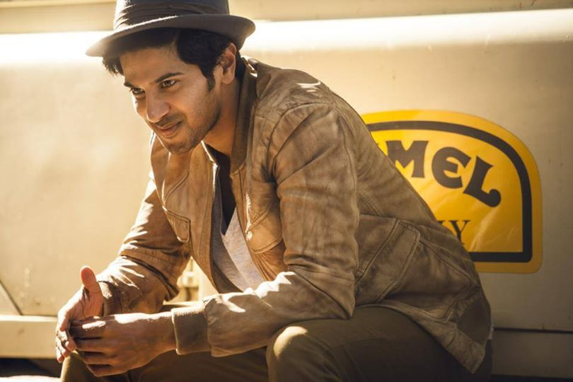 Dulquer Salmaan in a photoshoot