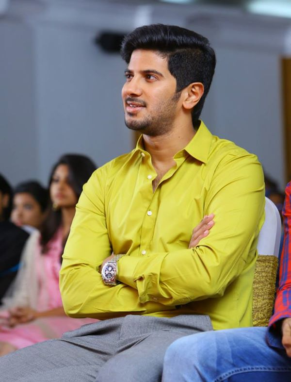Dulquer Salmaan in a function