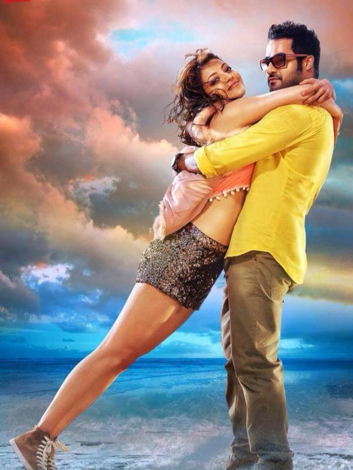 Kajal Aggarwal in temper with NTR