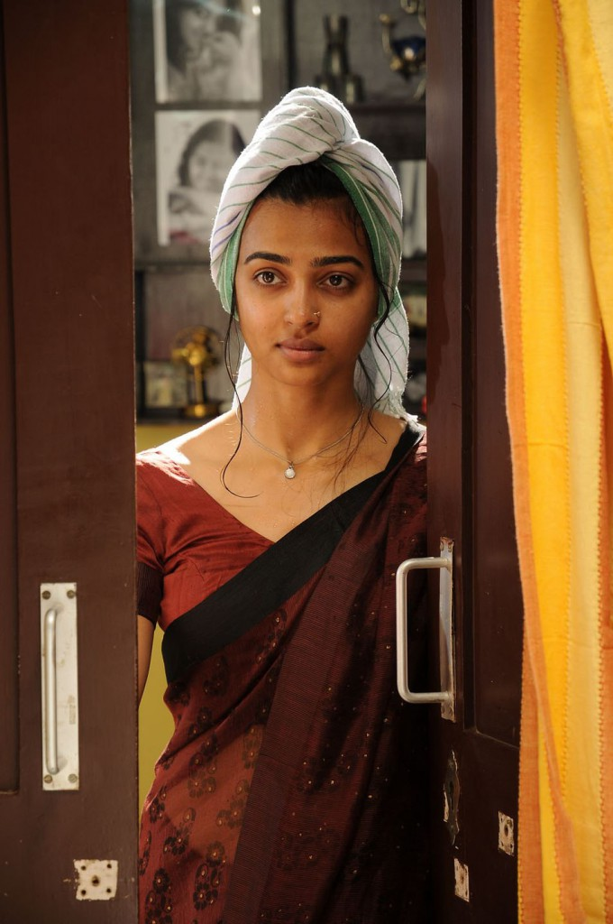 Radhika Apte in village dress