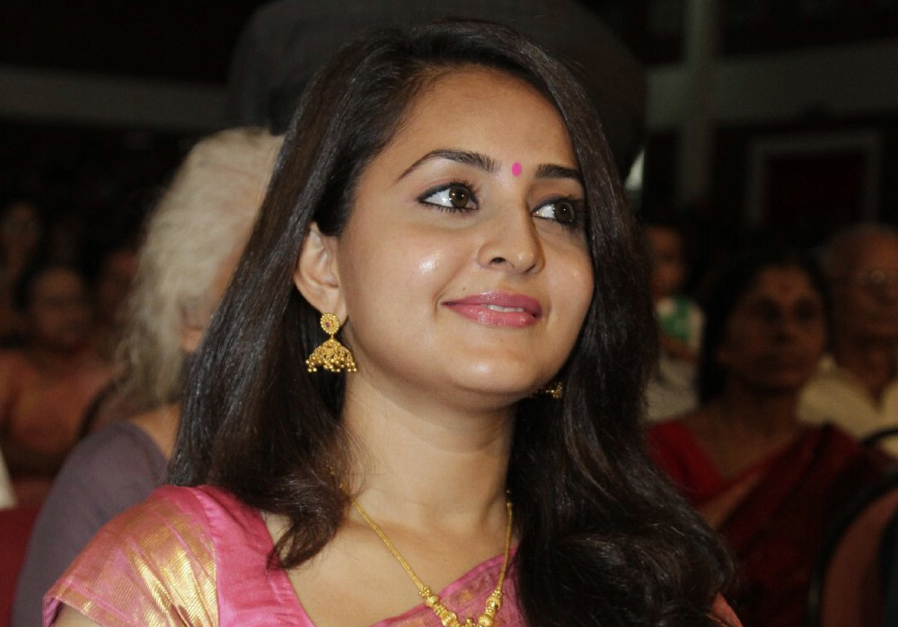 bhama in saree real life photo