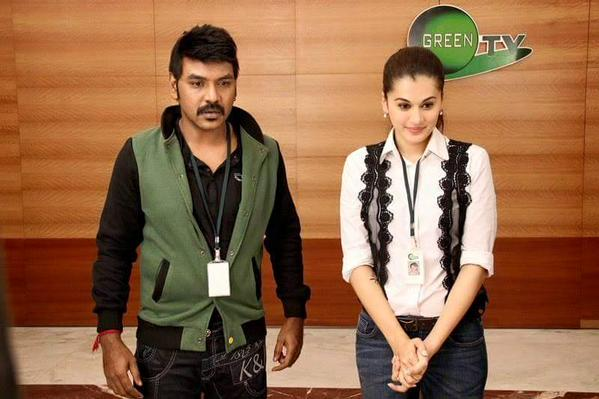 Taapsee Pannu with Lawrence