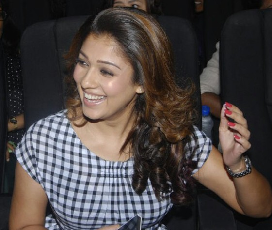 Nayanthara real life in a film function