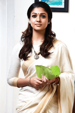 Nayanthara in white saree
