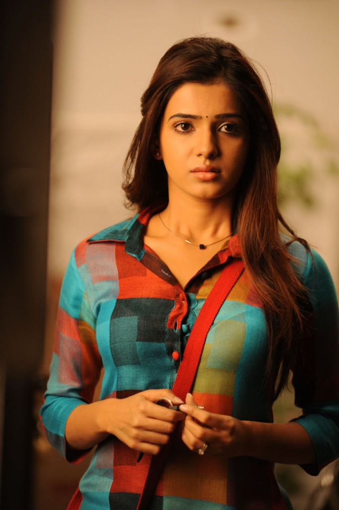 Samantha prabhu in simple dress