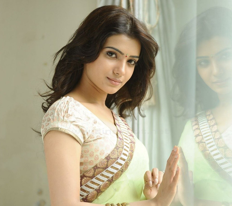 Samantha Prabhu in saree