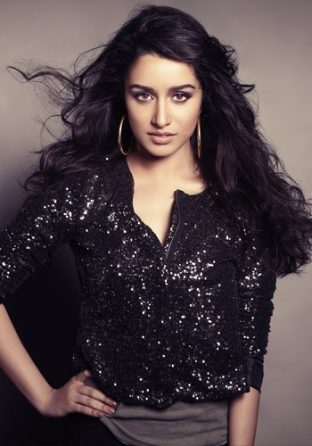 Shraddha Kapoor in black dress