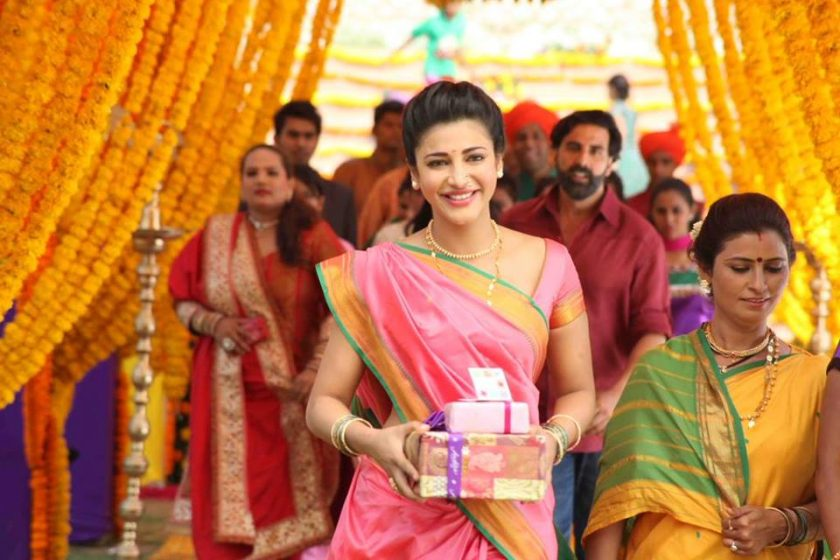 Shruti Haasan in Traditional Saree