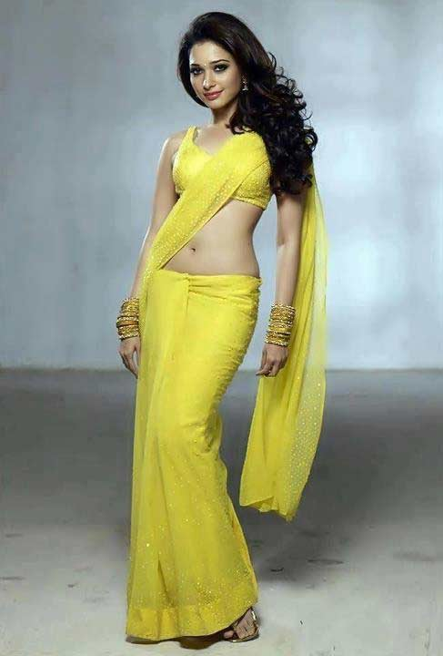 Tamanna hot in saree