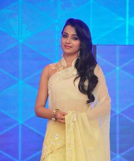 Trisha krishnan hot in white saree