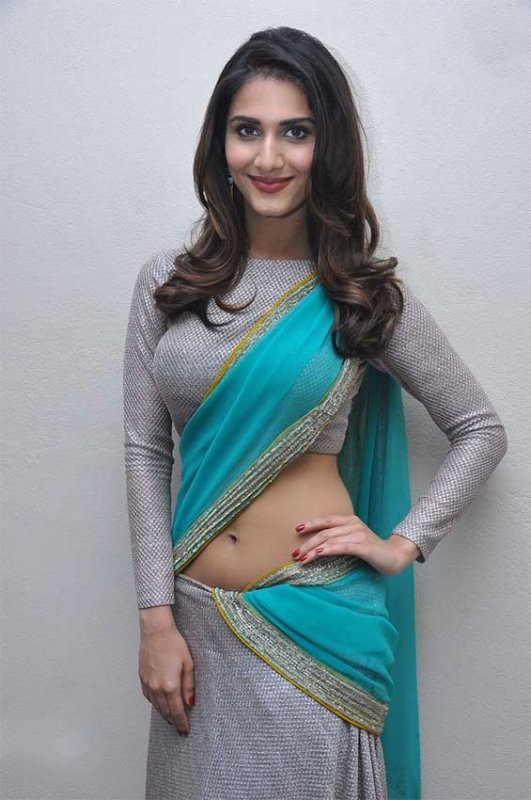 Vaani Kapoor in half saree hot