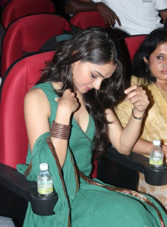 Andrea Jeremiah hot in real life green gown