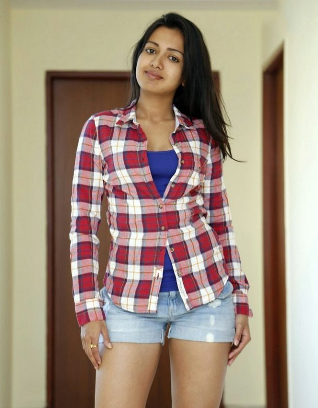 Catherine Tresa hot photo in real life